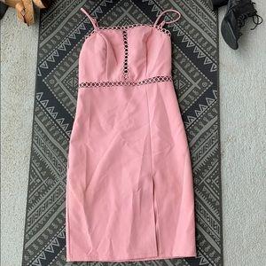 Blue Blush dress sz S pink